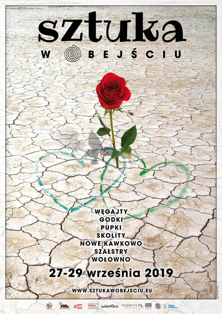 sztuka w obejściu 2019 plakat